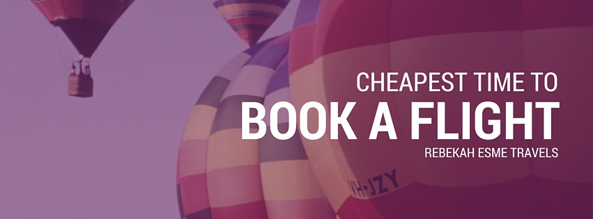 Cheapest Time to Book a Flight 2